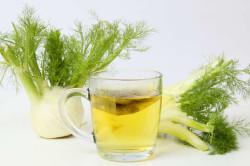 Применение чая из фенхеля для стимулирования работы желудка