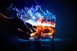 Алкоголь - причина нарушения выработки слизи