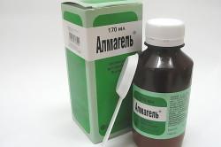 Алмагель для лечения гастрита и язвы желудка