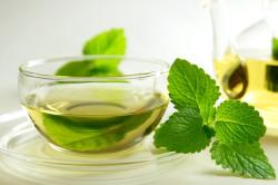 Мятный чай при вздутии живота