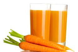 Морковный сок для профилактики атрофического гастрита