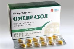 Омепразол для лечения гастрита
