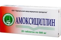 Амоксициллин для лечения гастродуоденита