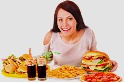 Неправильное питание - причина гастрита