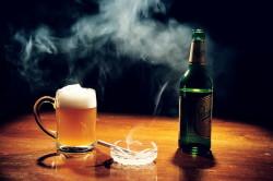 Отказ от вредных привычек при язве желудка