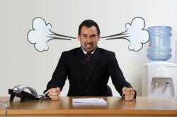 Стрессы на работе - причина многих язв