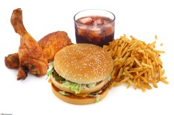 Появление изжоги в результате неправильного питания